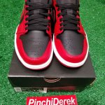 Air Jordan 1 Low Reverse Bred 3