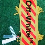 Off-white Virgil Abloh Arrows Scarf 2