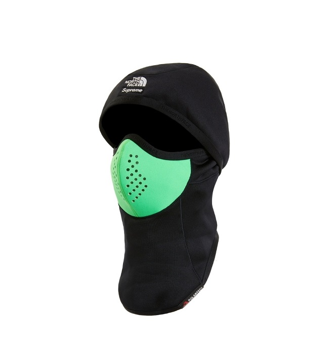 Supreme The North Face Balaclava Face Mask Black Green