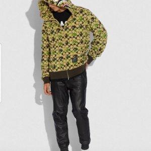 bape coach hoodie 01
