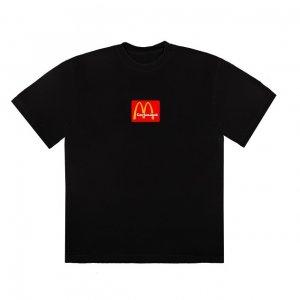 travis scott x mcdonalds logo tshirt 1