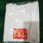 Travis Scott X Mcdonalds Logo Tshirt xLarge