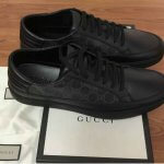 GUCCI GG SUPREME LEATHER SNEAKERS
