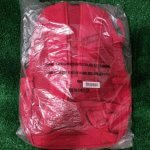 supreme red backpack 1