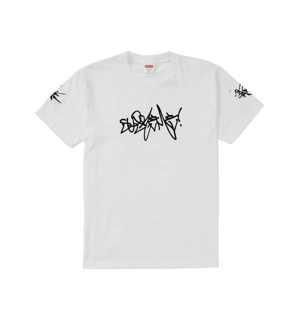 Supreme Rammezelle Graffiti Tag Tshirt