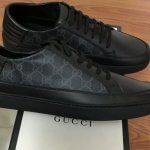GUCCI GG SUPREME LEATHER SNEAKERS 2