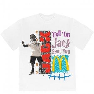 travis scott X Mcdonalds Tell Em Tshirt 1