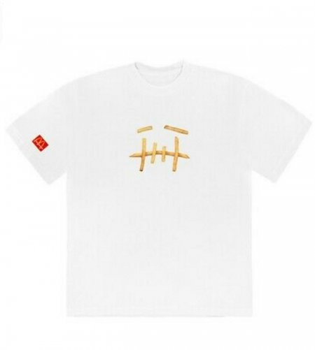 travis scott mcdonalds fry tshirt