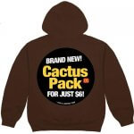Travis Scott X McDonald's Cactus Jack Hoodie Brown Color 2